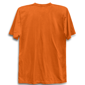 Jai Bajrangbali -Half Sleeve Orange
