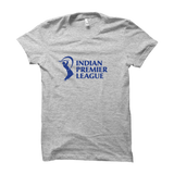 IPL 03 - Indian Premier League -Half Sleeve Grey