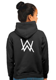 Alan Walker Superhero Unisex 100% Cotton Printed Hoodie (Black)