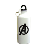 Avenger SuperHero Printed Sipper (600ml, Aluminium)
