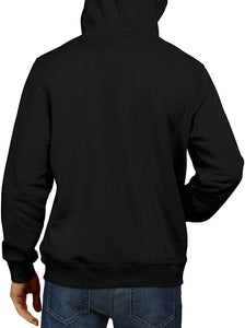 Indian Navy  Black Hoodie Unisex 100% Cotton Printed Hoodie ( Black)