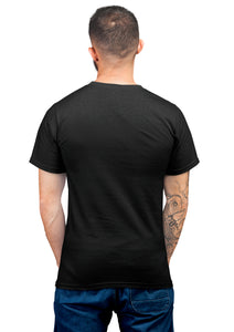 Unisex Training to Beat Half Sleeve Cotton Black Tshirts