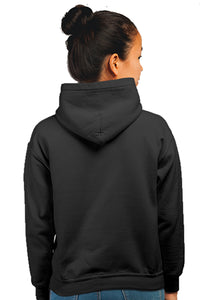 Ironmen Superhero Unisex 100% Cotton Printed Hoodie (Black)