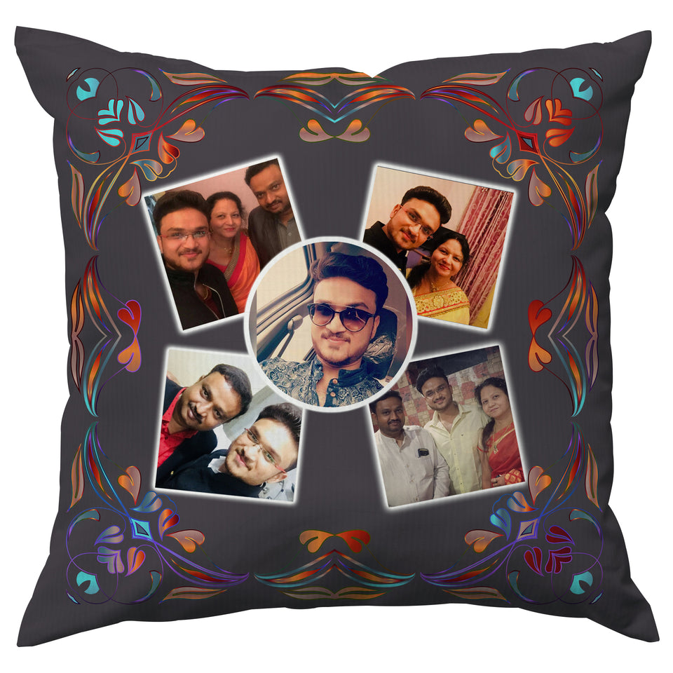 PERSONALIZED COLLAGE CUSHION GIFT