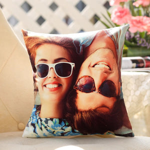 Cute Personalised Cushion For V-Day