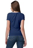 Unisex Basic Plain Navy Blue T-shirt