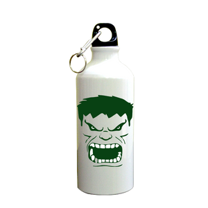 Hulk SuperHero Printed Sipper (600ml, Aluminium)