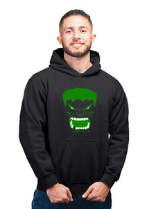 Angry Hulk Marvel Avengers End Game Whatever It Takes Unisex 100% Cotton Printed Hoodie