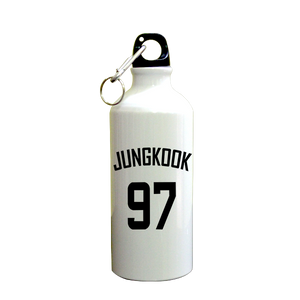 Jungkook 97 SuperHero Printed Sipper (600ml, Aluminium)