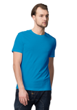 Unisex Basic Plain Sky Blue T-shirt