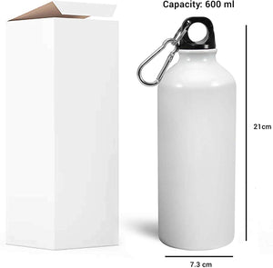MarshMellow SuperHero Printed Sipper (600ml, Aluminium)