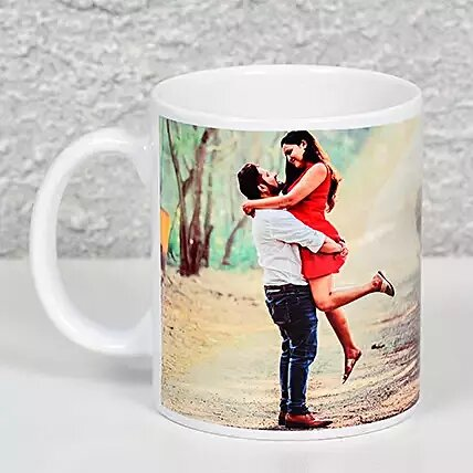 PERSONALIZED WHITE MUG