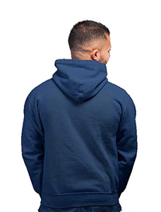 Dravid Mr. Dependable Blue Hoodie Unisex Printed Hoodie (Navy Blue Color)