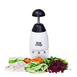 SLAP CHOP GARLIC VEGETABLE FRUIT CHOPPING GRATER SLICER DURABLE SLICER CRUSHING SHREDDER KITCHEN ACCESSORIES