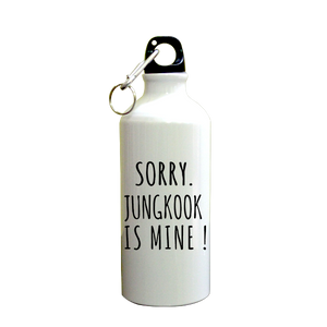 Sorry Jungkook  Printed Sipper (600ml, Aluminium)