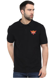 Sunriser Hyderabad Polo Half Sleeve Black