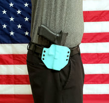 Load image into Gallery viewer, Sure-Fit O.W.B. Holster Light Blue (Left HAND) Gun Models S-W