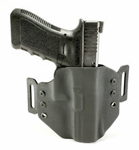 Load image into Gallery viewer, Sure-Fit O.W.B. Holster Black (LEFT HAND) Gun Models A-R