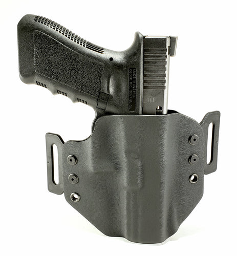Sure-Fit O.W.B. Holster Black (LEFT HAND) Gun Models A-R