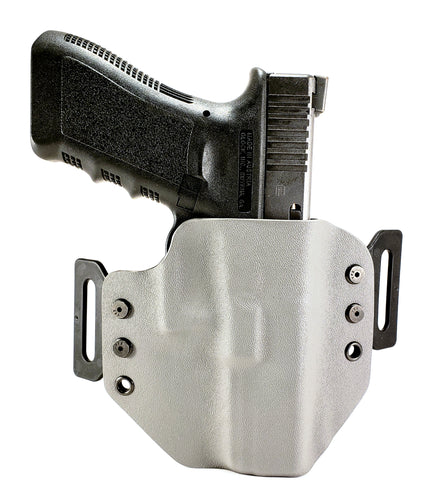Sure-Fit O.W.B. Holster Gray (LEFT HAND) Gun Models A-R
