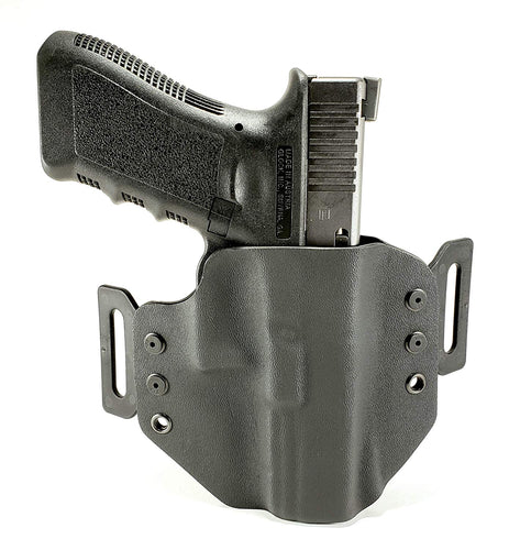 Sure-Fit O.W.B. Holster Black (RIGHT HAND) Gun Models A-R