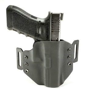 Sure-Fit O.W.B. Holster Black (RIGHT HAND) Gun Models S-W