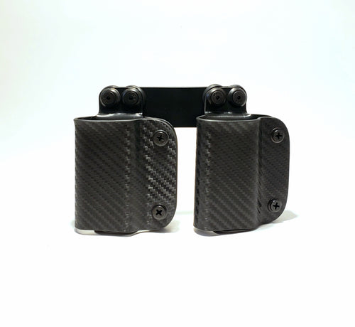 OWB Double Mag Carrier Black Carbon Fiber