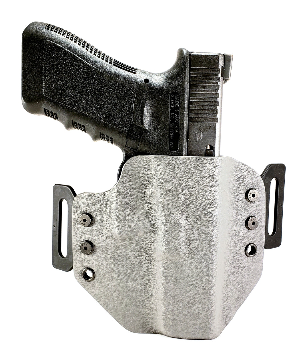 Sure-Fit O.W.B. Holster Gray (RIGHT HAND) Gun Models A-R