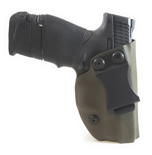 Sure-Fit I.W.B. Holster OD Green (LEFT HAND) Gun Models A-R