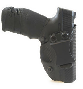 Sure-Fit I.W.B. Holster Carbon Black (LEFT HAND) Gun Models A-R
