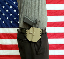Load image into Gallery viewer, Sure-Fit O.W.B. Holster Tan (RIGHT HAND) Gun Models A-R