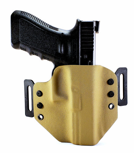 Sure-Fit O.W.B. Holster Tan (LEFT HAND) Gun Models A-R