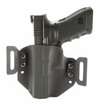 Load image into Gallery viewer, Sure-Fit O.W.B. Holster Black (LEFT HAND) Gun Models S-W