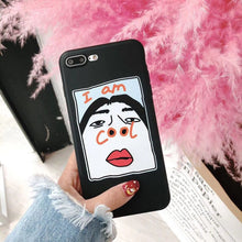 Load image into Gallery viewer, Funny nose transparent soft shell phone case