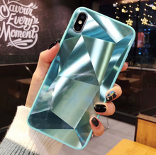 Load image into Gallery viewer, Diamond Texture Phone Case For iPhone