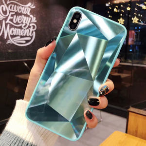 Diamond Texture Phone Case For iPhone