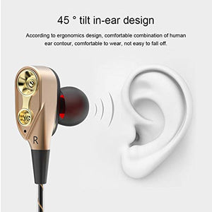 Dual Drive Wired Earphone