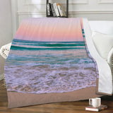 Luxury Fleece Blanket - Beach