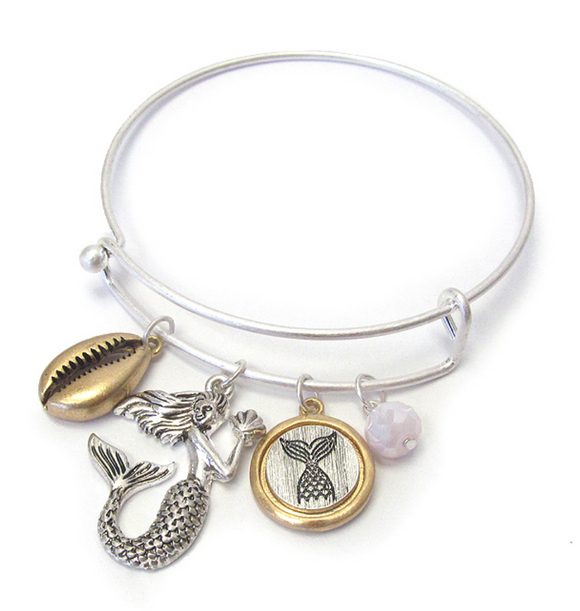 Mermaid Bangle Bracelet