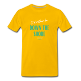 I'd rather be Down The Shore T-Shirt - sun yellow