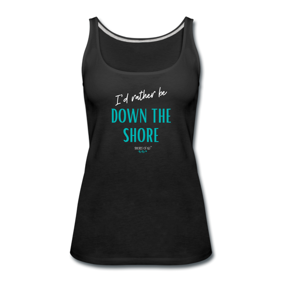 I'd rather be Down The Shore Tank Top - black