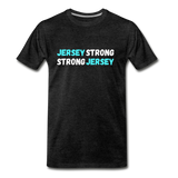 Jersey Strong T-Shirt - charcoal gray