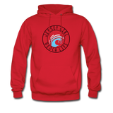 Jersey Girl Beach Girl Hoodie - red