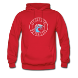 Jersey Girl Beach Life Hoodie - red