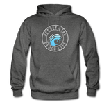 Jersey Girl Beach Life Hoodie - charcoal gray