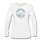 Jersey Girl Beach Life Long Sleeve T-Shirt - white