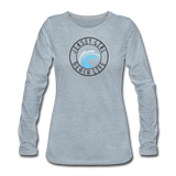 Jersey Girl Beach Life Long Sleeve T-Shirt - heather ice blue