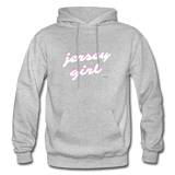 Jersey Girl Hoodie - heather gray