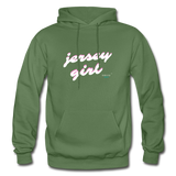 Jersey Girl Hoodie - military green