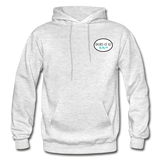 Shores of NJ Hoodie - light heather gray